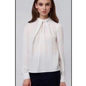 NEW Mod Cloth Louche Tatiana Twist Neck Blouse XS